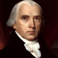 Picture of James Madison Jr., who was an American statesman and Founding Father who served as the fourth President of the United States from 1809 to 1817.